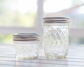 Bulk mixed pack - 48 quilted Ball Mason jars with lids
