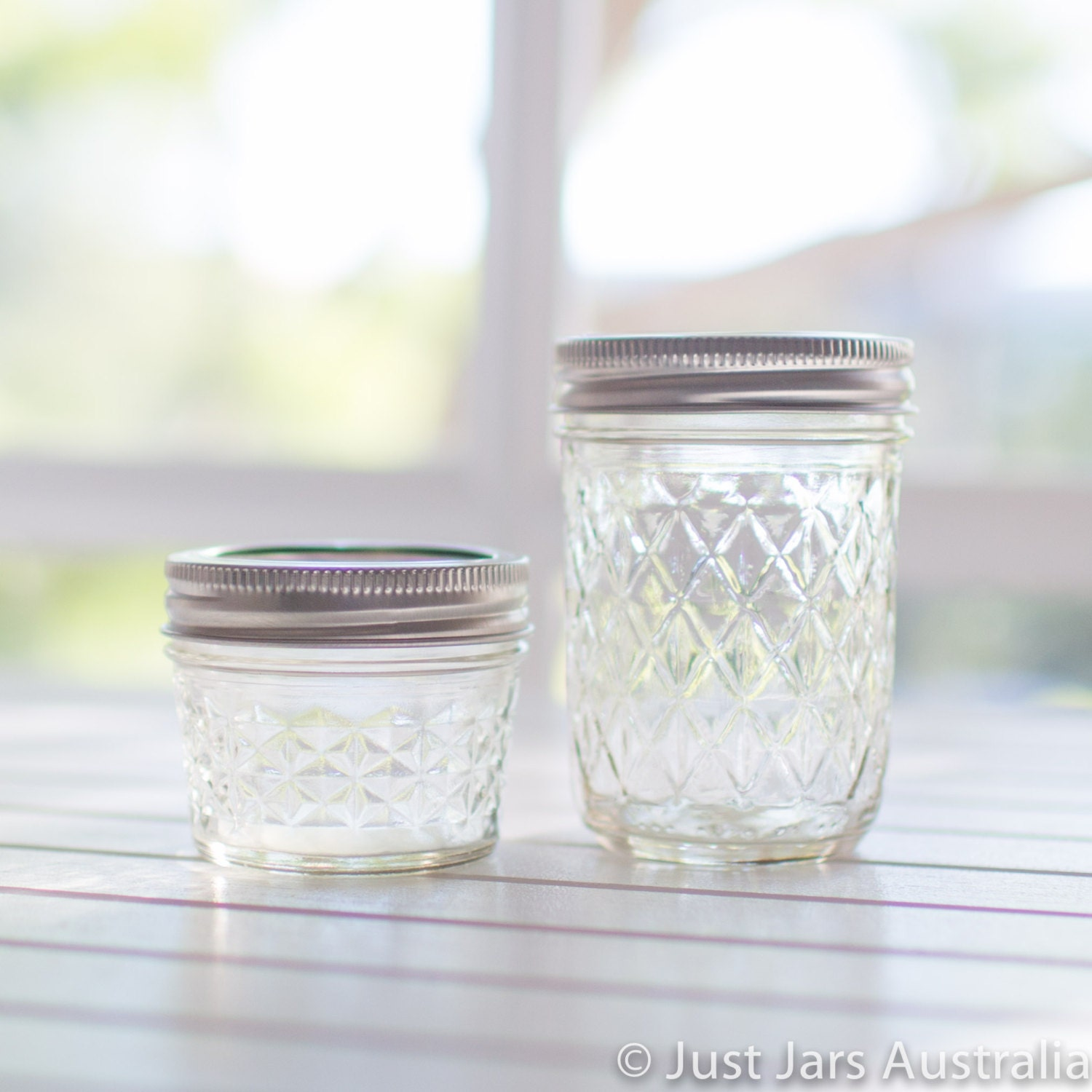 bulk mixed pack 48 quilted ball mason jars with lids. Black Bedroom Furniture Sets. Home Design Ideas