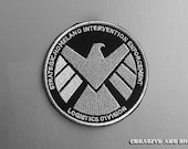 "Agents of S.H.I.E.L.D. -  sew/iron on 4"" Patch"