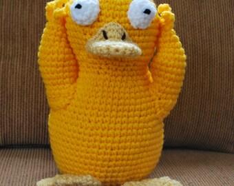 Crochet Psyduck