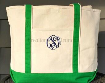 Monogrammed Tote Bag, Monogrammed Beach Bag, Monogrammed Beach Tote, Monogrammed Luggage, Monogrammed Bag, Monogrammed Tote, Bridesmaid Gift
