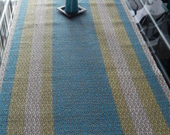 Handwoven Summer- Table Runner, linen