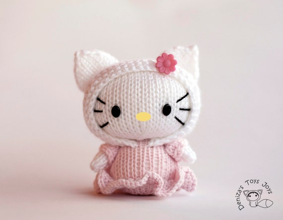 Hello Kitty Doll Toy Knitting Pattern : Unavailable Listing on Etsy
