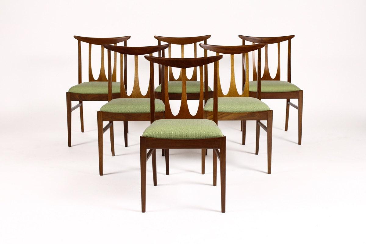 Danish Modern / Vintage Mid Century Teak Dining Chairs by