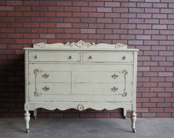 Chest of Drawers / Tall Chest / Shabby Chic Dresser / Antique Chest ~ Customized Paint To Order ~