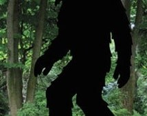 Popular Items For Sasquatch Silhouette On Etsy