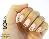 Golden Retriever Nail Sticker