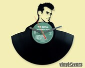 Morrissey Steven Patrick The Smiths gift wall clock from vinyl record rock unique handmade Manchester