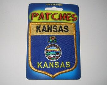 State Patch Kansas Flag Seal