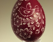 Handmade Etched/Engraved Easter Eggs