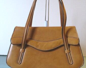 Vintage  Made in Italy Accordion Style Handbag