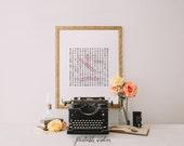 Custom Crossword Wall art Decor, Nursery name monogram wedding, Printable print personalized, digital Printable Wisdom