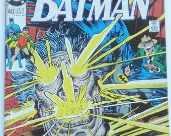 Batman  DC Comics No. 443, The Coming of Crimesmith