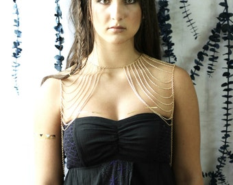 Shoulder Jewelry, Body Chain Jewelry, Statement Jewelry, Arm Jewelry, Summer Fashion