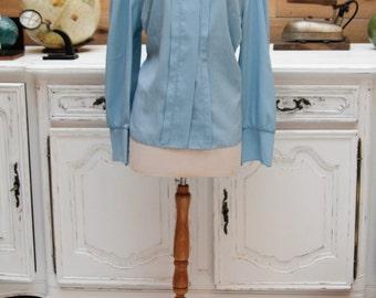 Vintage Light Blue Shirt