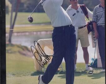 Ernie Els Autographed 8X10 PGA Golf
