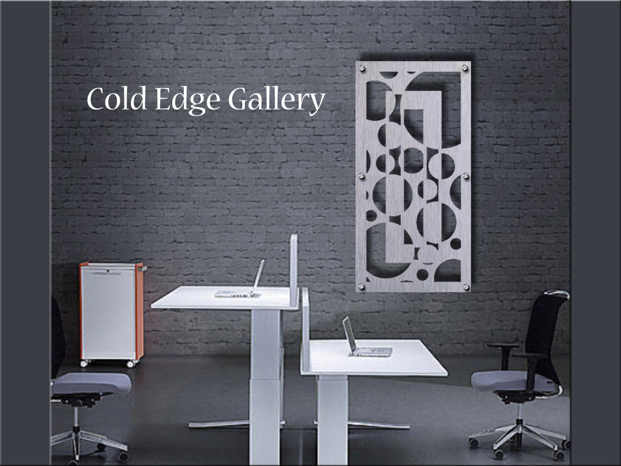 Home office art metal wall art art decor abstract for Wall decorations for home office