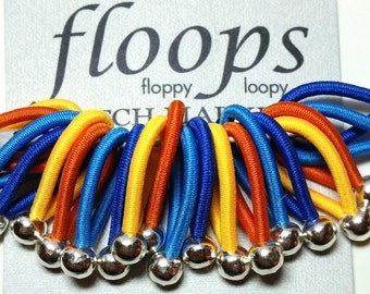 size Medium  'Rupert' - soft flexible FLOOPS knitting stitch markers