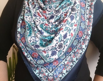 Blue Turkish Scarf