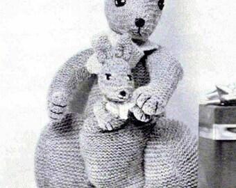 Kangaroo pattern Etsy