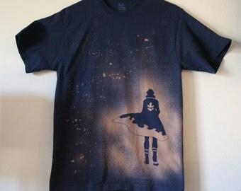 Gurren Lagann Inspired Handmade Bleached Shirt