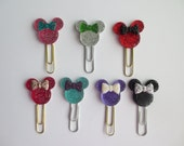Crystal Minnie Mouse INSPIRED Paper Clip