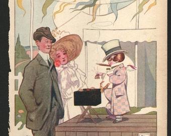 Vintage Magazine Cover - Life  - September 7, 1911  (682)