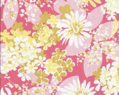 ONE Sweet Vintage Sheet Fat Quarter, Vintage Sheet Fabric, Vintage Floral Fabric, Quilting Supplies, Wedding Supplies