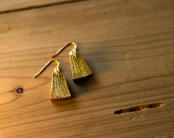 Cleopatra - gold earrings