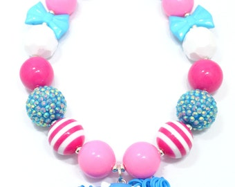 Lalaloopsy - Mittens Fluff 'n' Stuff, Chunky Necklace - Ready to Ship