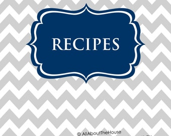 view recipe printables by allaboutthehouse on etsy