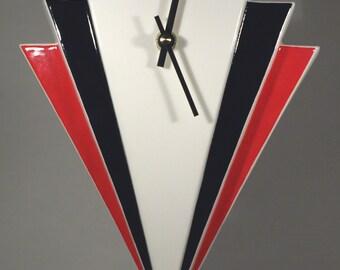 Echo of Deco Art Deco Inspired Manhattan Wall Clock