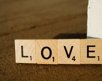 Scrabble Word Magnet Custom Wedding Favor, Shower, Housewarming, Valentine's Day, Game/Book Lover, Stocking Stuffer, Librarian, Teacher Gift