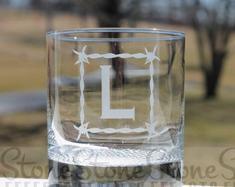 personalized whiskey glasses, etched whiskey glass, engraved rock glass, fathers day, whiskey glasses, whiskey glasses,  Whiskey Glasses