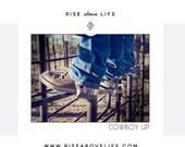 Cowboy Up print at home digital download