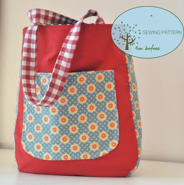 Tote Bag Sewing Pattern - Burke Leather Totes