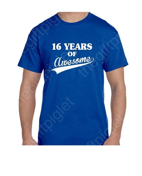 16th Birthday Gift Shirt 16th Birthday Boy Sweet 16 Gift Funny