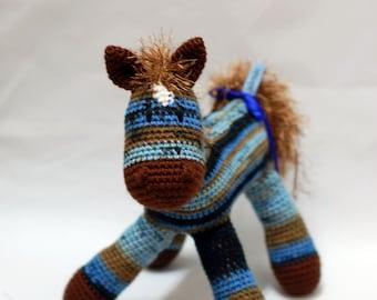 Amigurumi Twilight Pearl Horse