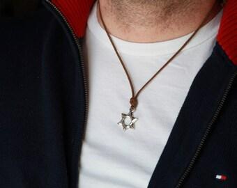 Mens Large Om Necklace Om Necklace Men S Necklace By Manupinc