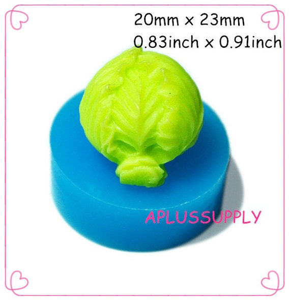 Items similar to VYL016 Cabbage Flexible Silicone Push ...