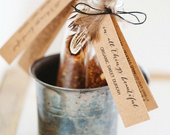 Organic Sweet Dukkah | Wedding Gift | Placecard | Hostess Gift |