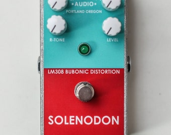 Harben Audio Solenodon - LM308 Bubonic Distortion Pedal