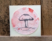 Miniture Gift Card - Toadstool