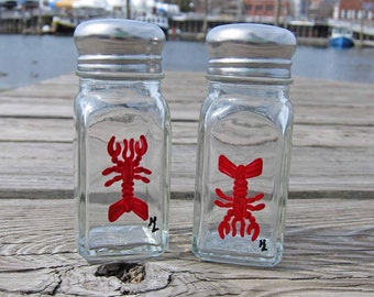 SALE Lobster Large Salt & Pepper Shakers | FREE SHIPPING
