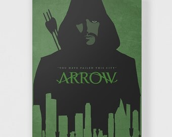 Arrow Poster - Green Arrow TV Series Print