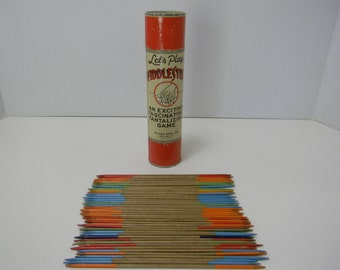 Vintage Fiddlestix Game from the 1940s