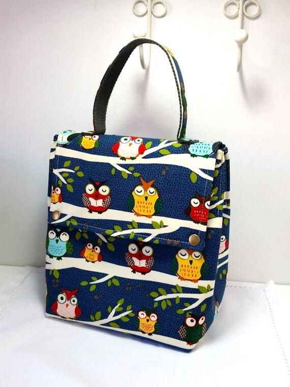 sac de d jeuner tissu lunchbag lunch box bo tes lunch. Black Bedroom Furniture Sets. Home Design Ideas
