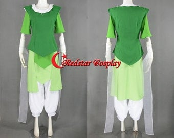 Opal Cosplay Costume from Legend of Korra - Custom made in any size
