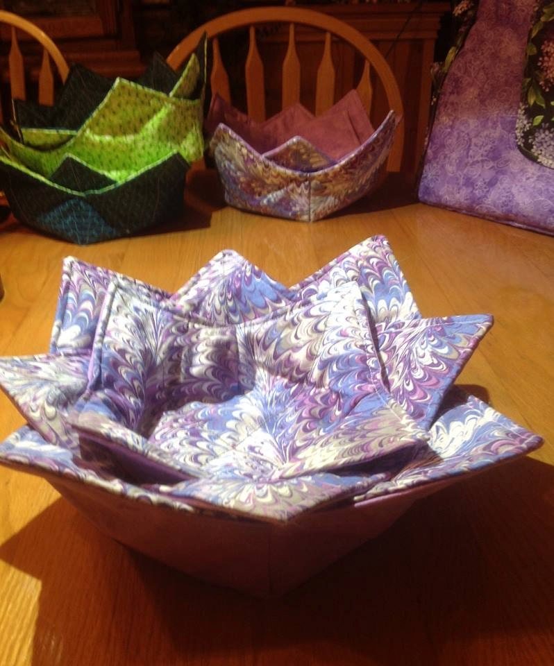 Microwave bowl cozy set of 3 contains one by beverlyjanecreations