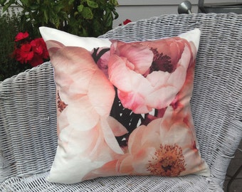 NEW French Peonies Pillow